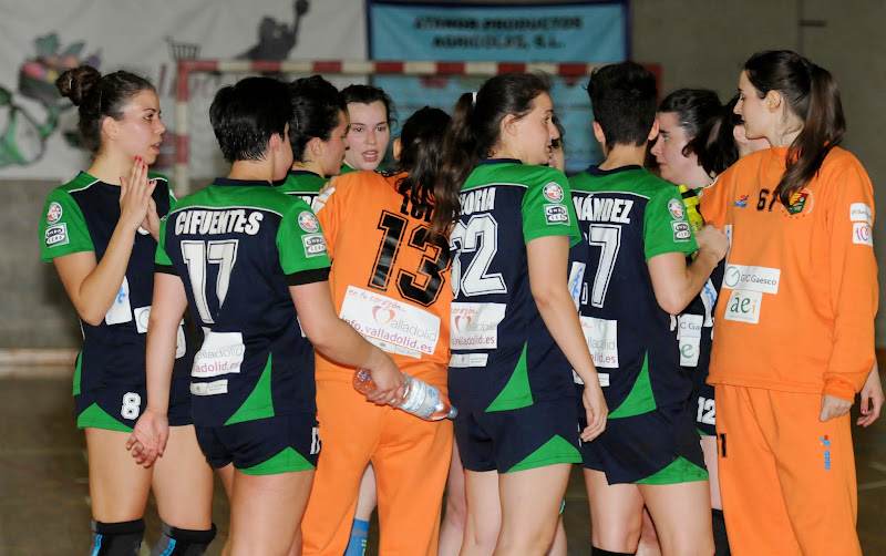 Liga DHF 14-15 / Castelldefels-AULA