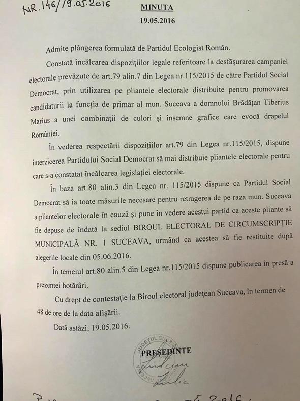 Donțu și Brădățan au comis-o din nou: au tipărit 55.000 de pliante ilegale. PSD, obligat să retragă pliantele și să le depună la BEC