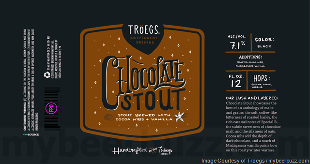 Troegs Chocolate Stout Coming To 12oz Cans