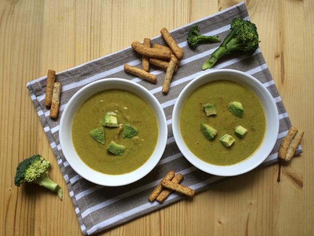 brócoli receta crema