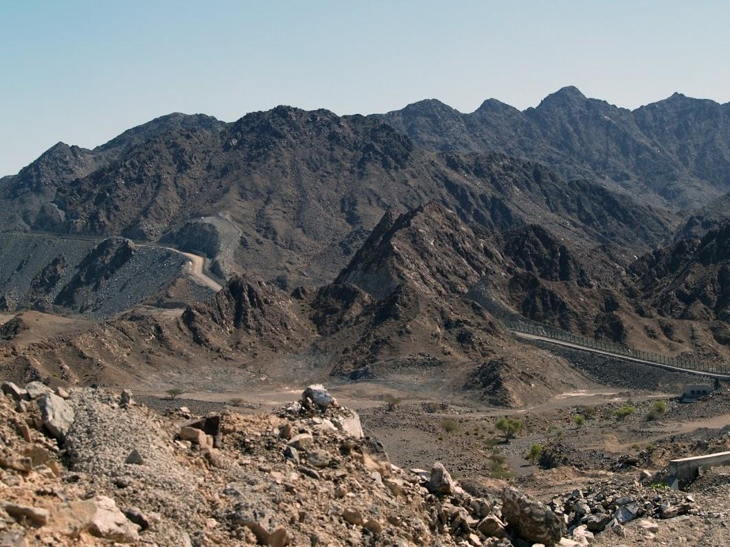 Eagle's Nest across UAE mountains