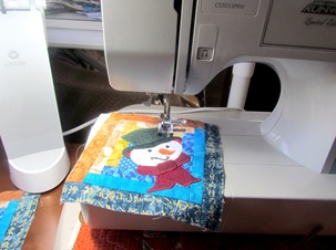 1512125 Dec 20 Sewing Snowmen On Coasters