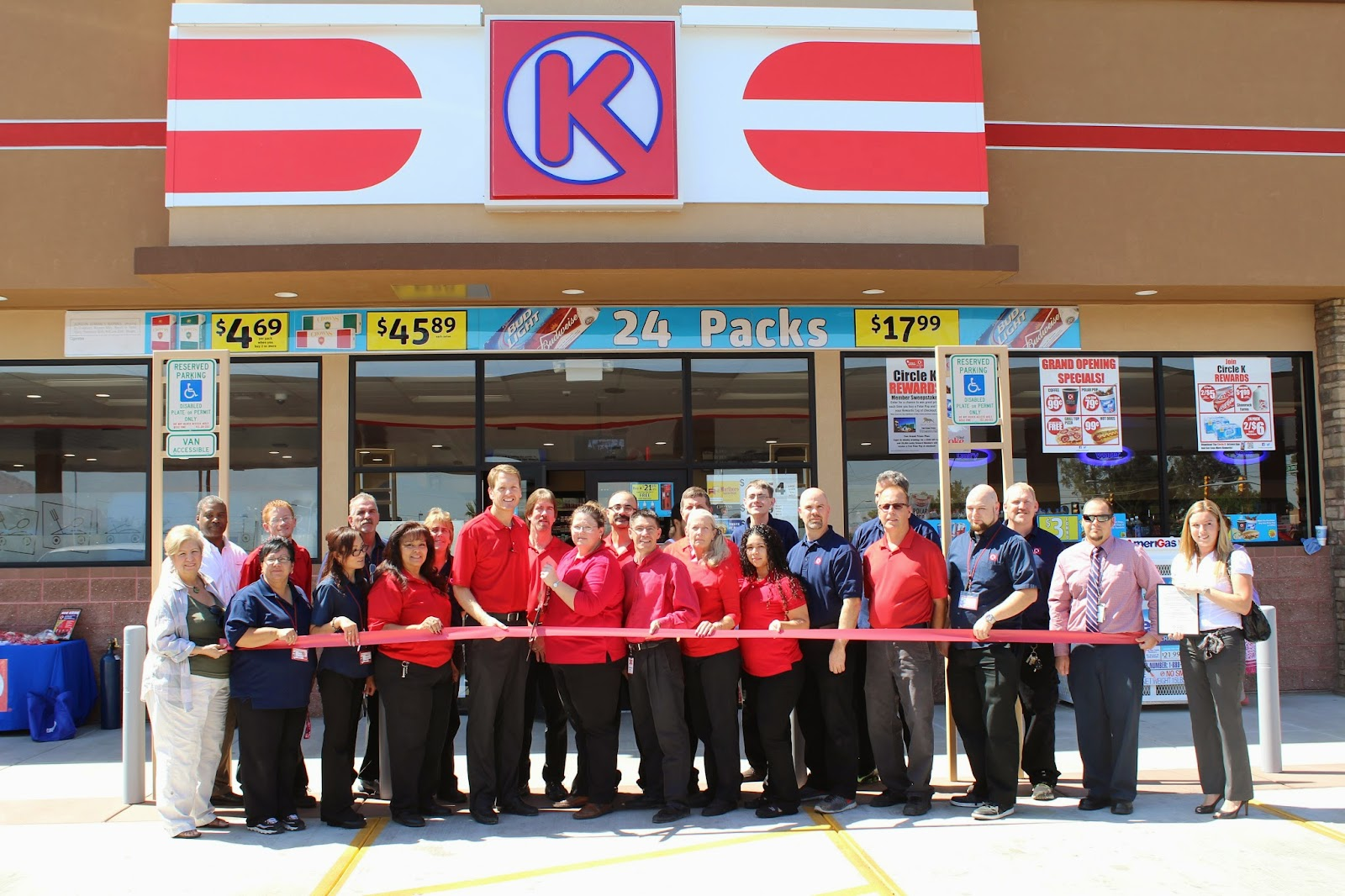 Circle K - Circle K would like to thank those that attended the Grand Opening Ceremony at our new Store located at 1395 W. Miracle Mile Road. We would like everyone to visit often to take advantage of the New Circle K Rewards Program. Don't miss out on your chance to win this 2014 Chevy Camaro with your Circle K Rewards Card.