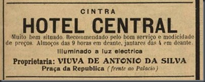 1913 Hotel Central