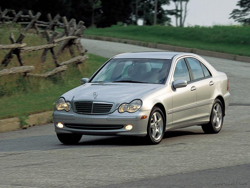 2003 mercedes benz c class sedan specifications pictures prices. Black Bedroom Furniture Sets. Home Design Ideas
