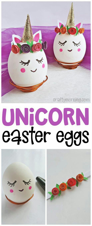 Divertidas Ideas Para Decorar Huevos