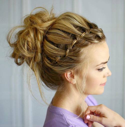 The Trendy Bun Hairstyles For Casual And Formal In Current Year 2017 4