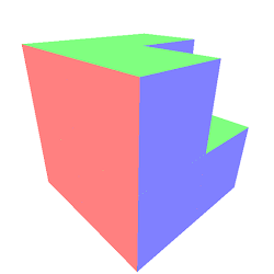 Octree missing corner