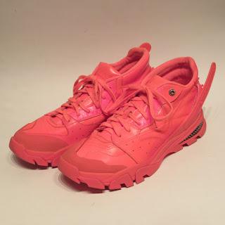 Calvin Klein 205W39NYC Safety Orange Sneakers