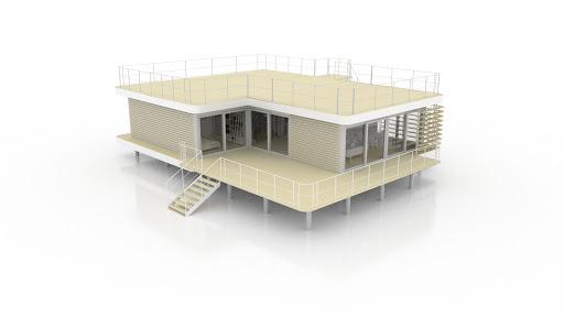 terrasse basse et toit terrasse