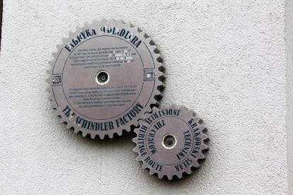 Engranajes de la Fábrica de Schindler (Cracovia)