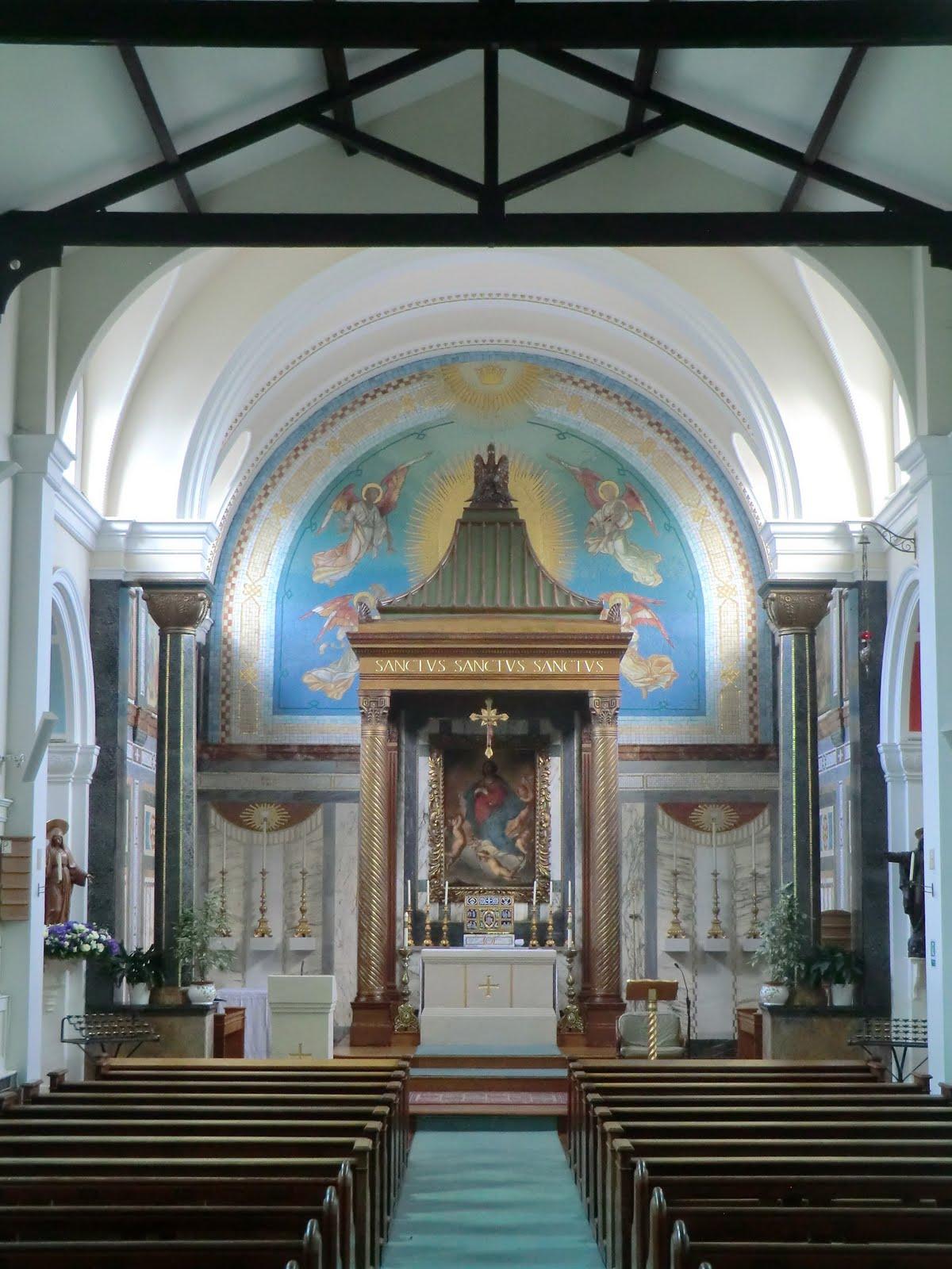 CIMG9770 St Mary's church, Hampstead