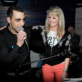 WWW.ENTSIMAGES.COM -    Ramzi and Nika  at   Après London The Live Lounge - launch party at Apres London, 31 Duke Street, London, April 12th 2013                                                    Photo Mobis Photos/OIC 0203 174 1069