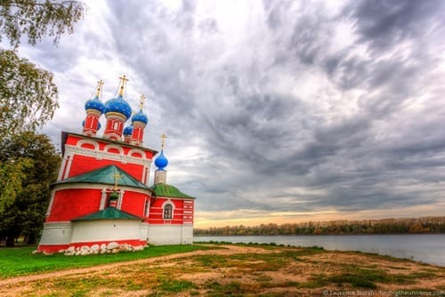 Russia river cruise church view