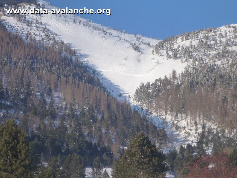 Avalanche Vercors, secteur Jocou - Photo 1