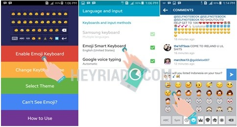Cara menciptakan emoticon di Instagram Android Cara Membuat Emoticon di Instagram Android
