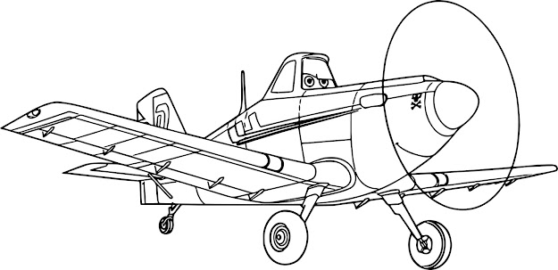 Disney Planes Coloring Pages