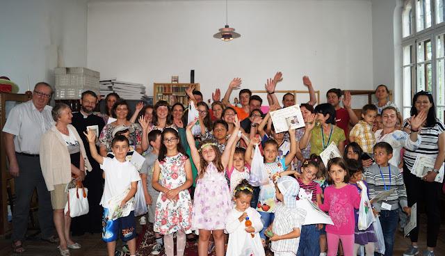 4 iulie - Festivitatea de încheiere a celei de-a II -a serii a Taberei de creație