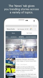 News Suite by Sony- screenshot thumbnail