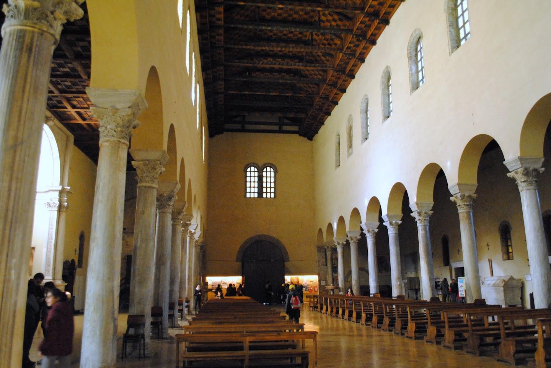 My Photos: Italy -- Mosaics -- Ravenna -- Basilica di San Francesco