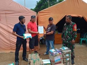 PT. Tri Laga Management Peduli Bencana Kebakaran Di kampung Cengkuk
