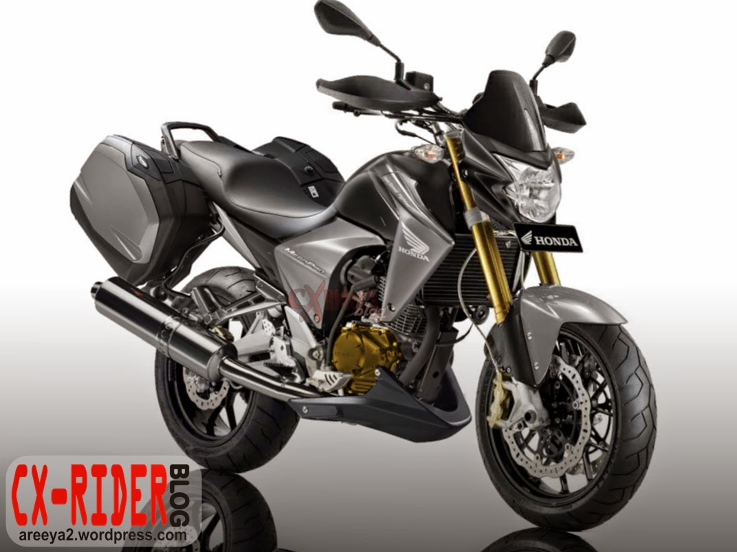 Modifikasi New Megapro Ala Street Fighter