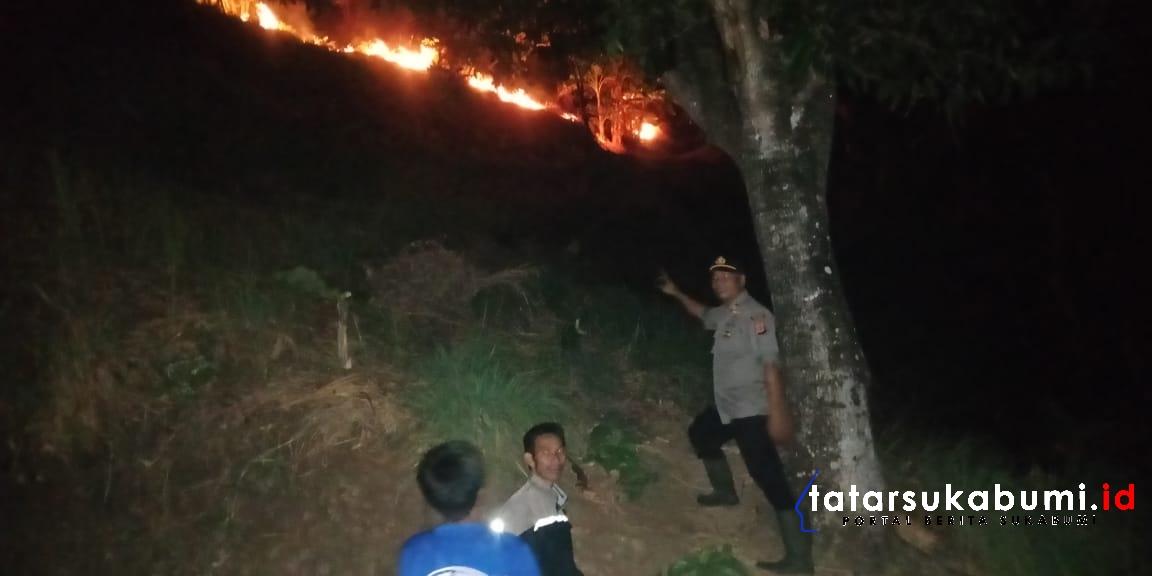 Musim Kemarau Rawan Kebakaran Lahan di Sukabumi