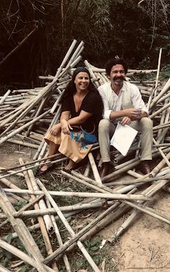 Viviane Araújo grava Recomeçar seu primeiro longa-metragem