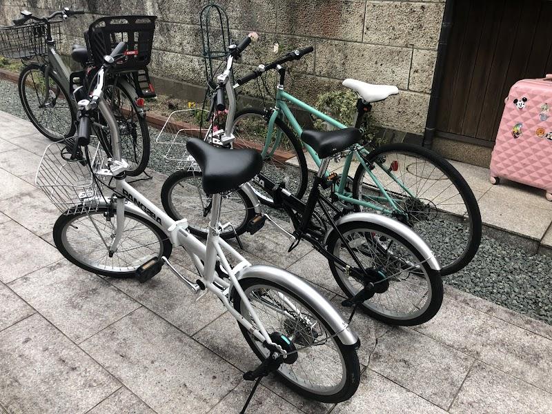 Verdeさんが用意してくれた自転車