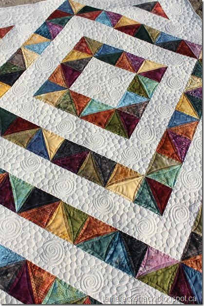 Tamarack Shack: Free PDF Pattern–Four Patch Charm Quilt