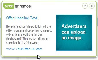 Image: Text Enhance adware