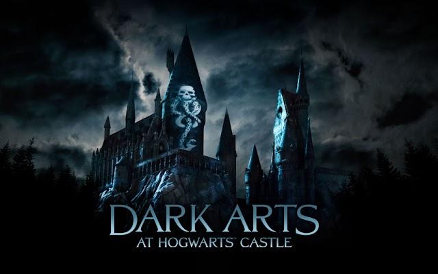 VÍDEO: Experiência de Projeção de luzes Dark Arts no The Wizarding World of Harry Potter