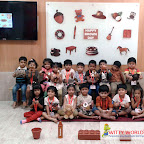 Brown Day Celebration by Nursery Section at Witty World, Bangur Nagar 2017-18
