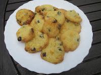 Cookies cranberries et chocolat blanc