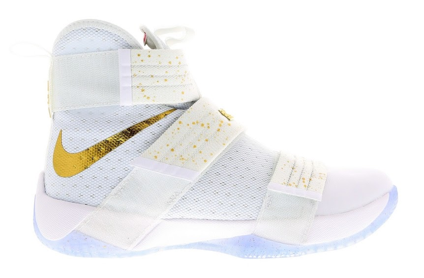 finest selection c524b c2f7b Coming Soon Nike LeBron Soldier 10 Gold Medal ...