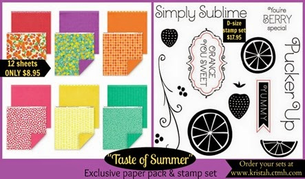 Taste of Summer_paper   stamp_PicMonkey Collage