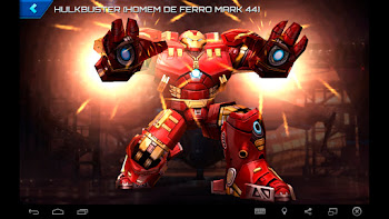 Hulkbuster (Homem de Ferro MARK 44) - Vingadores: A Era de Ultron