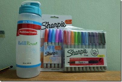 Sharpie X Rubbermaid gift set