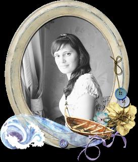 """Я была дизайнером блога """"Волга-скрап"""" 2011-2014 гг"""
