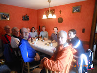 Lunch near Heinescheid, en-route to Vianden