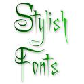 Stylish Fonts & Keyboard icon