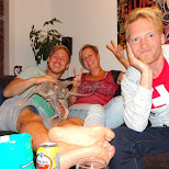 hanging with my amazing friends in IJmuiden in Velsen, Noord Holland, Netherlands