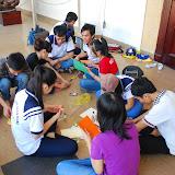 Xuân tình nguyện 2013 - Hoạt động làm thiệp tặng các chiến sĩ hải đảo