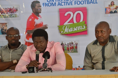 Victor Ezeji Retires, Offers Life Insurance Scheme To Local Players