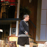 Lonnie Honsinger in THE ROYAL FAMILY - December 2011.  Property of The Schenectady Civic Players Theater Archive.