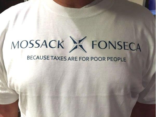 Mossack fonseca t shirt