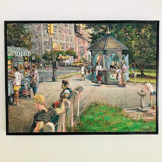 Daniel Hauben Signed Painting