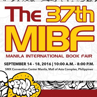37th MIBF 2016