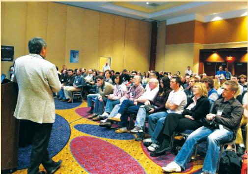 Sir Amano thuyết giảng về thủy sinh tại Atlanta, Mỹ