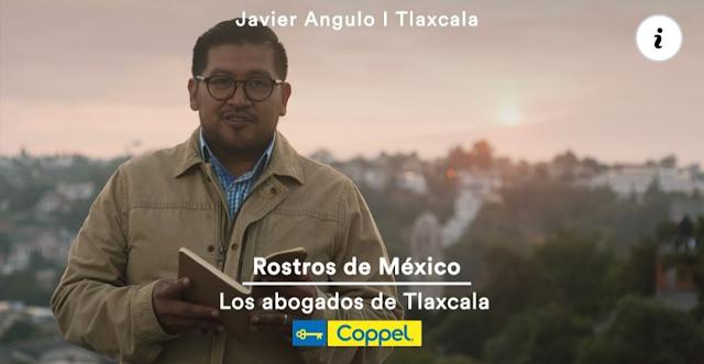 Abogado de Tlaxcala sale a la fama en comercial Coppel: VIDEO